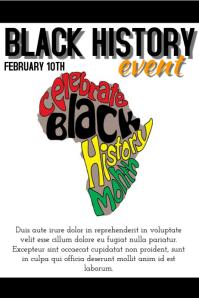 Black history event