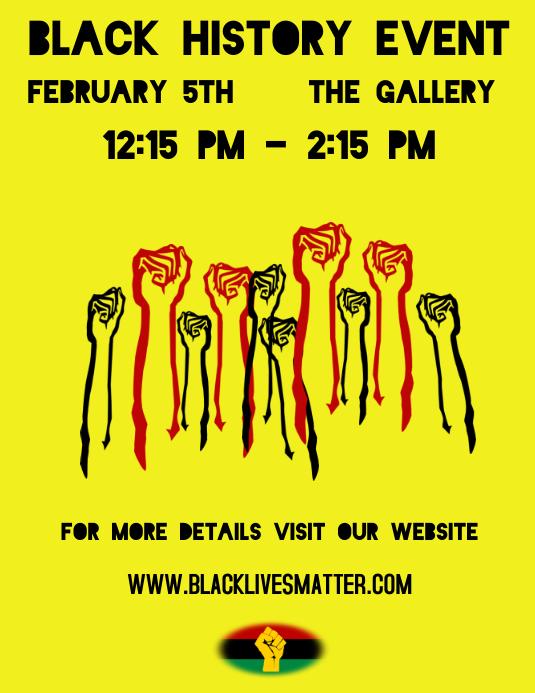 Black History Month Flyer