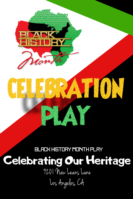 Black History Month Flyer Template Postermywall