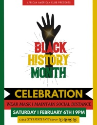 Black History Month Template Pamflet (VSA Brief)