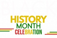 Black History Month Template โปสเตอร์