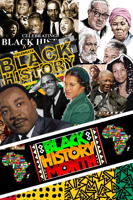Black History Party Backdrop