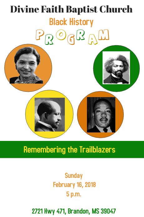 black history program