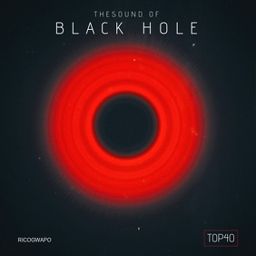Black Hole Sounds Album Artwork 专辑封面 template
