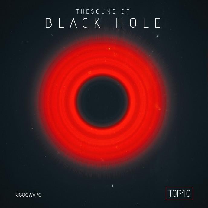 Black Hole Sounds Album Artwork ปกอัลบั้ม template