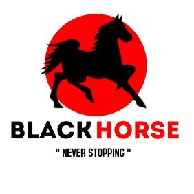Black horse company logo