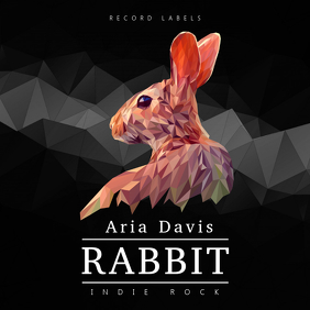 Black Indie Rock Album Cover