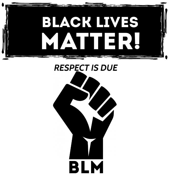 Black Lives Logo template