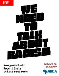 Black Lives Matter Anti Racism Webinar Live Flyer (format US Letter) template
