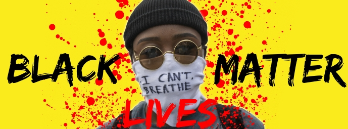 Black Lives Matter Campaign Template Facebook Cover Photo