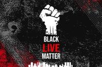 Black Lives Matter Campaign Banner template
