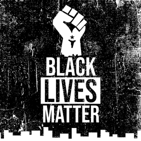 Black Lives Matter Campaign Instagram Post Instagram-Beitrag template