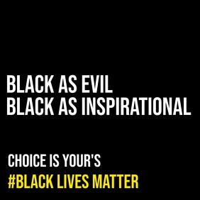 Black Lives Matter Campaign Template