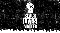 Black Lives Matter Campaign Twitter Post Twitter-opslag template
