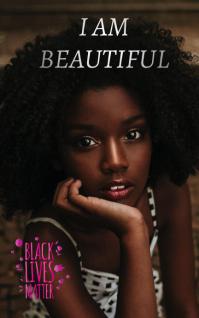 Black lives matter Cover ng Libro template