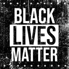 Black Lives Matter Pos Instagram template