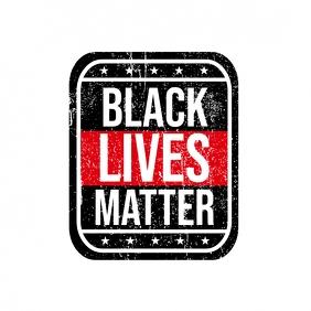 Black Lives Matter Instagram-opslag template