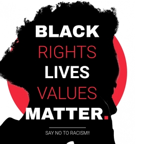 Black Lives Matter Instagram Post Quote