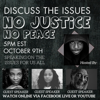 Black Lives Matter justice forum