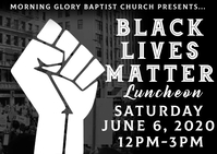 black lives matter luncheon event church