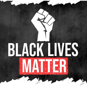 Black Lives Matter Post