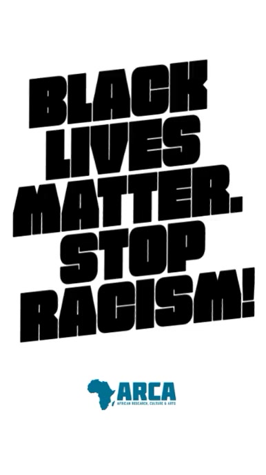 Black Lives Matter racism protest video story template