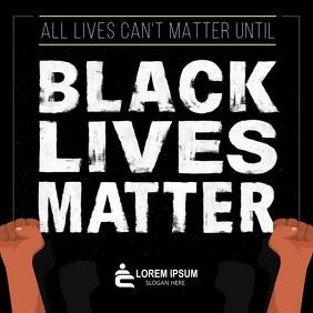 Black Lives Matter Sqaure Video