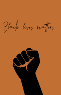 BLACK LIVES MATTER TEMPLATE Tabloïd