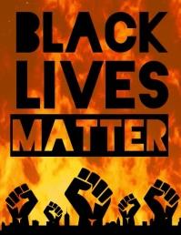 Black Lives Matter video design template
