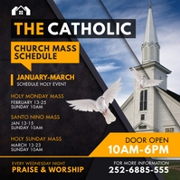 Black Ministry Mass Schedule Instagram Post T