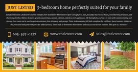 Black Real Estate Facebook Post Image template