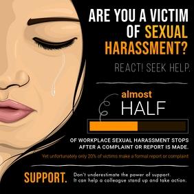Black Sexual Harassment Instagram Image