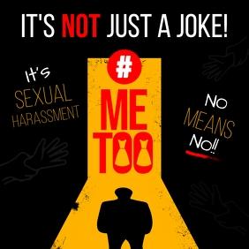 Black Sexual Harassment Instagram Post