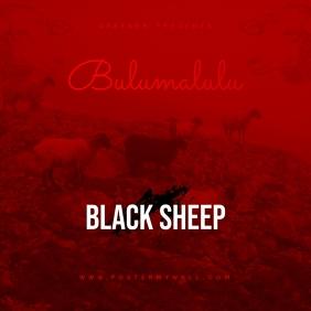 Black Sheep Mixtape CD Cover Template Обложка альбома