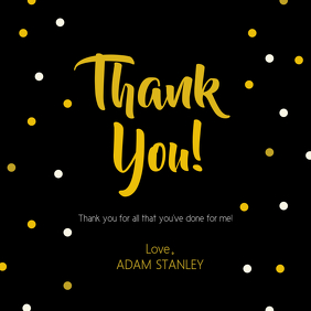 create free thank you greeting cards postermywall