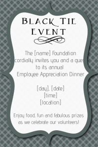 employee appreciation invitation template