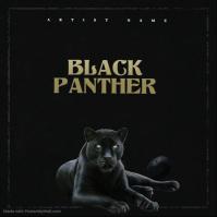 Black Tiger mixtape cover art design template