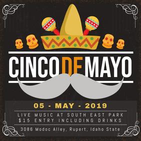 Blackboard Cinco de Mayo Fiesta Ad