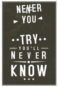 Blackboard Inspirational Poster