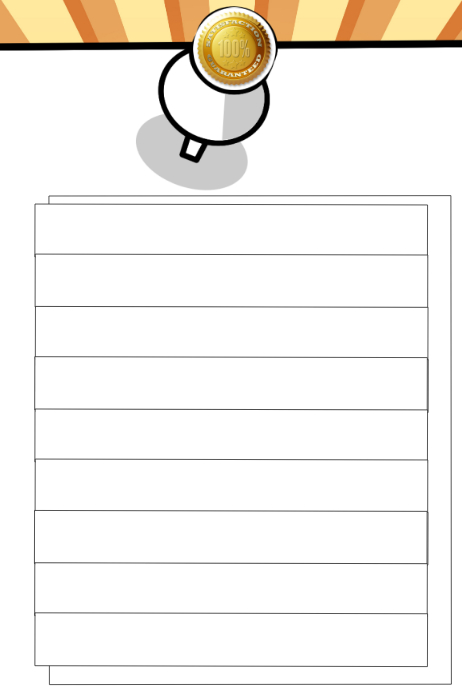 Blank List Memo Design Template  Postermywall