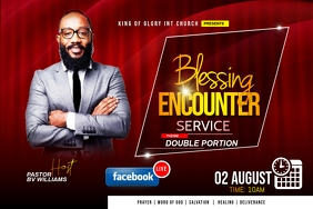 blessing encounter flyer