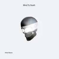 Blind To Death trap mixtape album cover templ