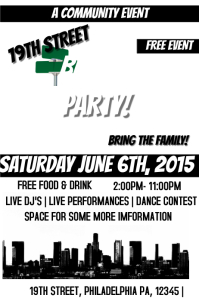 15 750 customizable design templates for block party postermywall