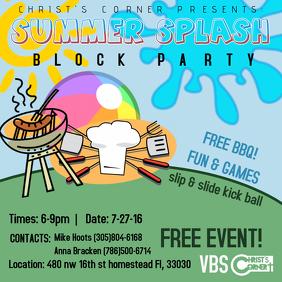 Block Party Flyer Templates