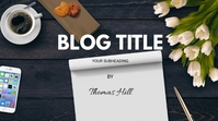 BLOG COVER Digitale display (16:9) template