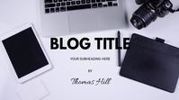 BLOG COVER Affichage numérique (16:9) template
