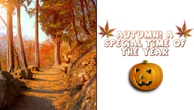 Blog Header Autumn Themed template