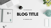 BLOG HEADER Digital Display (16:9) template