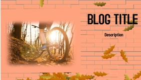 Blog Header Заголовок блога template