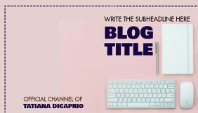 BLOG HEADER Blogkop template